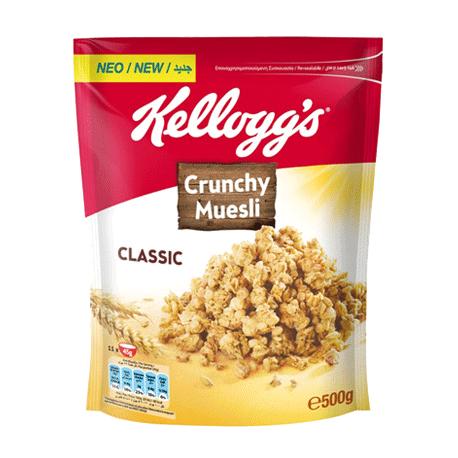 Kellogg's Crunchy Muesli Classic 380g