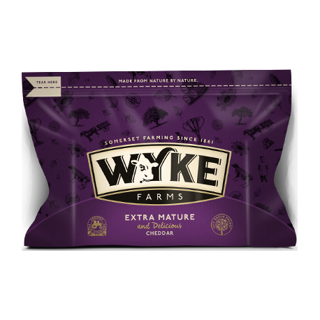 Wyke Farms Extra Mature Cheddar Cheese 200g