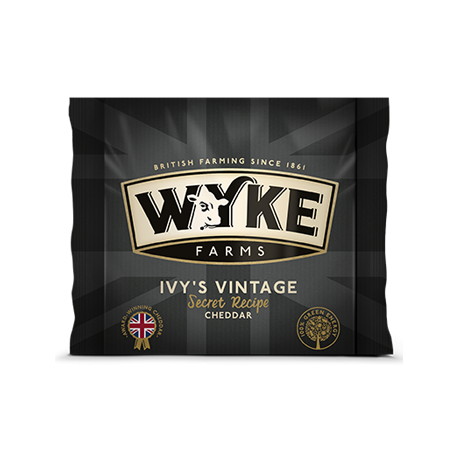 Wyke Farms Ivy's Vintage Reserve Cheddar Cheese 200g