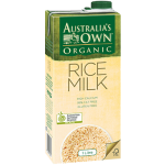 Australia's Own Organic Rice Milk 1L