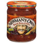 Newman's Own Medium Salsa Black Bean & Corn 453g