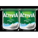 Activia Stirred Plain Low Fat Yoghurt 4x120G