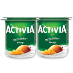 Activia Stirred Mango Yogurt 4x120G