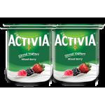 Activia Stirred Mixed Berry Full Fat Yoghurt 4x120G