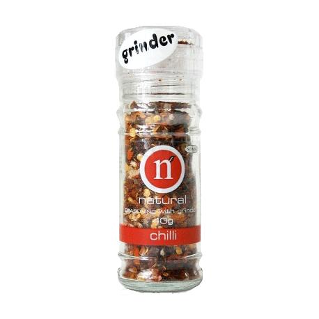 Natural Chilli Blend with Grinder 50g