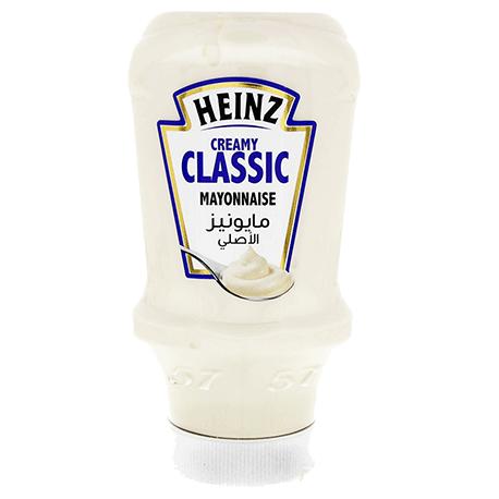 Heinz Creamy Classic Mayonnaise Squeezy 400ml
