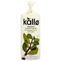 Kallo Organic Lightly Salted Wholegrain Low Fat Rice Cakes 130g