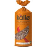 Kallo Fair Trade & Organic Wholegrain Sesame Seed Rice Cakes 130g