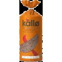 Kallo Fair Trade & Organic Wholegrain Sesame Seed Rice Cakes 130g