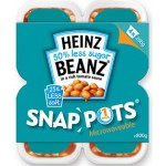 Heinz Beanz Snap Pots 4 Pack 800g