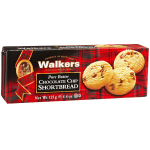 Walkers Pure Butter Chocolate Chip Shortbread 125g