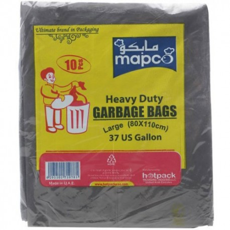 Hotpack 10 Garbage Bags 110 Large  80x110 cm
