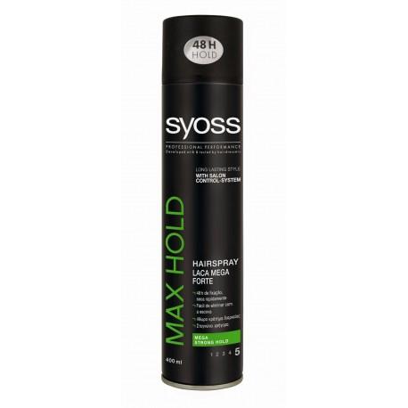Syoss Max Hold Hair Spray 400ml