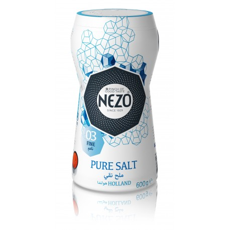 Nezo Pure Salt 600gm (Fine)