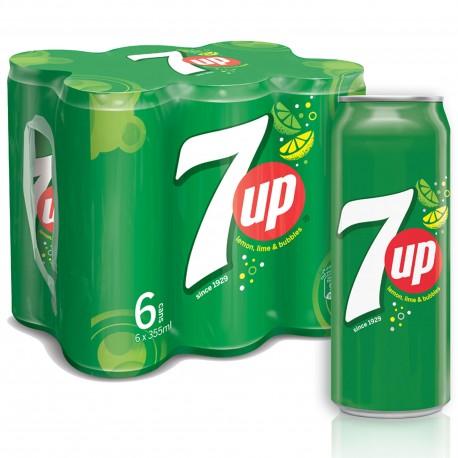 7up Regular Pack 6x355ML