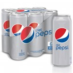 Pepsi Diet 6x355ml Pack