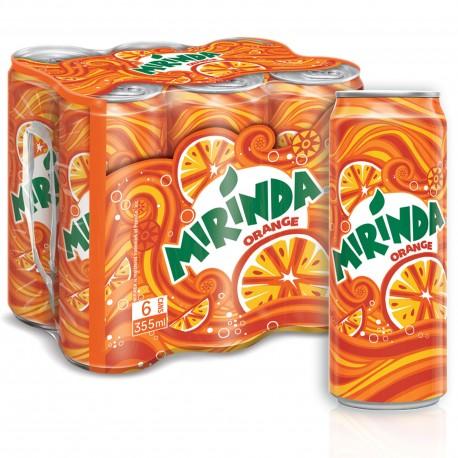 Mirinda Orange 6x355ml Pack