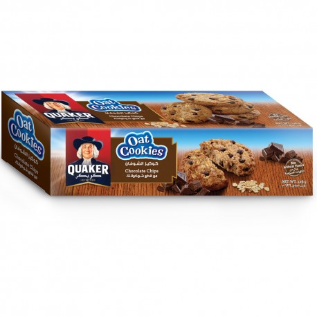 Quaker Oat Cookies Chocolate Chip 126g