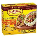 Old El Paso Stand 'n Stuff Hard & Soft Taco Dinner Kit 266g