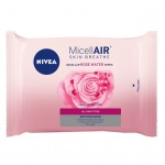 Nivea MicellAIR Skin Breathe Rose Water 25 Wipes