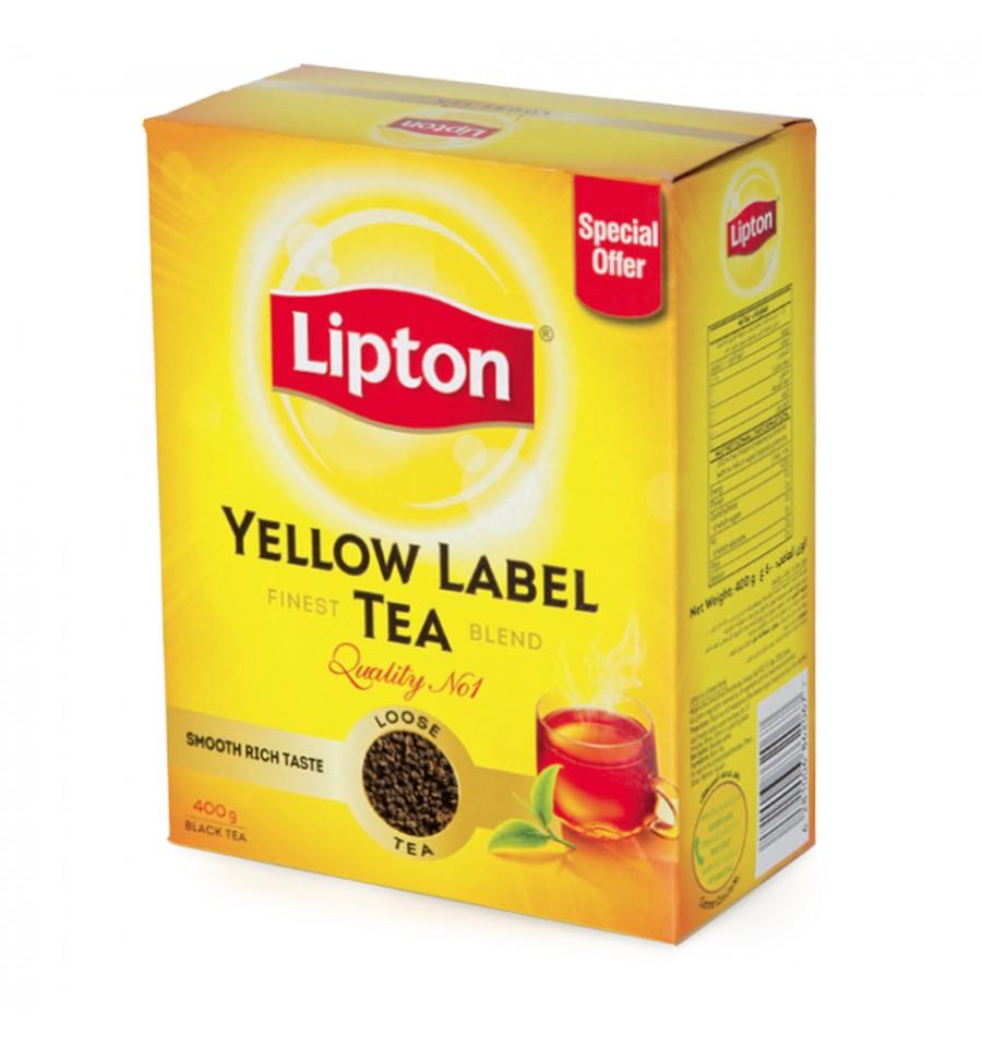Lipton Yellow Label Loose Tea 400g From SuperMart.ae