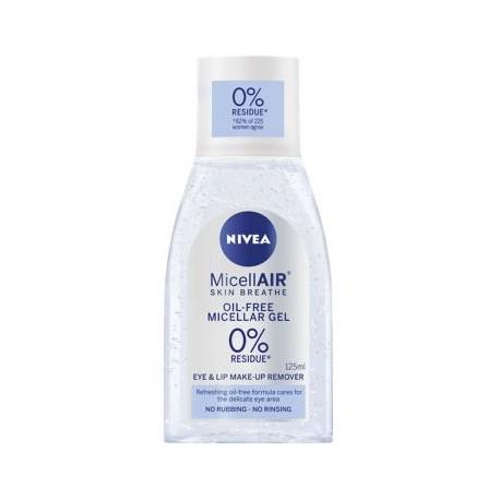 NIVEA Micellar Water Eye Make-Up Remover 125ml