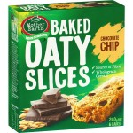 Mother Earth Chocolate Chip Baked Oaty Slices 6 Bars