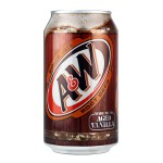 A&W Aged Vanilla Root Beer 355ML