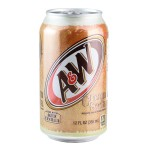 A&W Beer Cream Soda 355ml