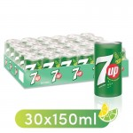 7up Regular Mini Cans 30X150ml