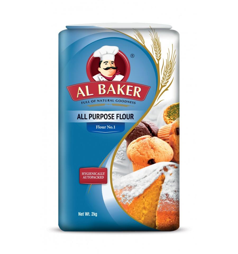 Al Baker All Purpose Flour 2 Kg