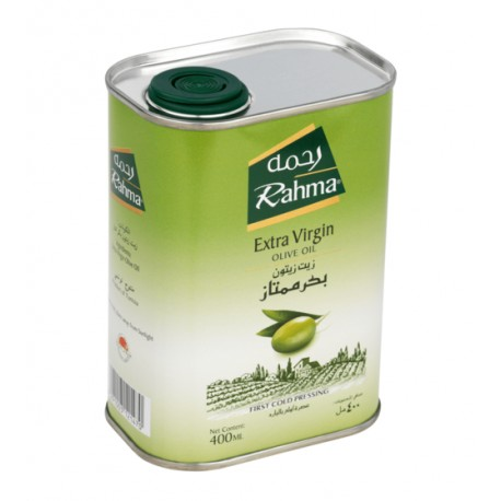 Rahma Extra Virgin Oilve Oil Tin 400ml