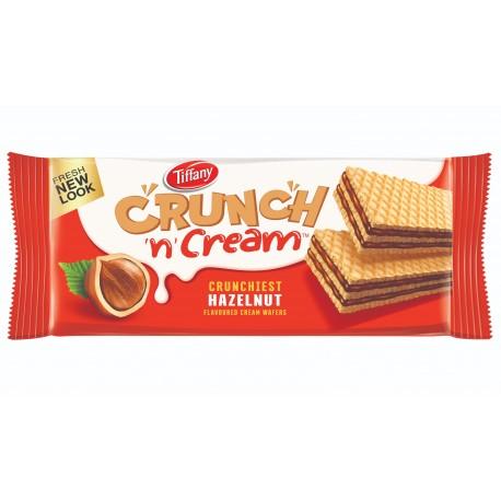 Tiffany Crunch &cream Wafers Hazelnut 76gm