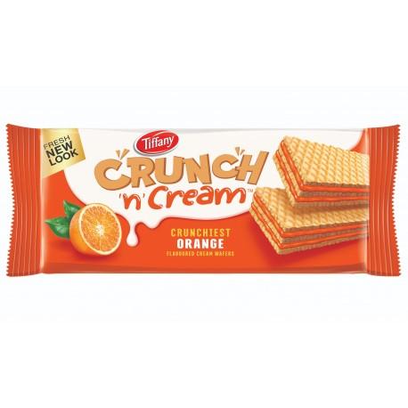 Tiffany Crunch & Cream Wafers Orange 76gm