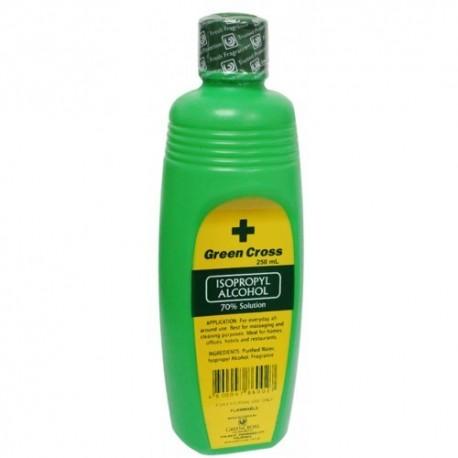 Green Cross Isopropyl Alcohol 70% Solution 250ml
