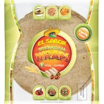 El Sabor Wholemeal Wraps 8x8 360gm