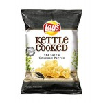 Lays Kettle Cooked Sea Salt & Cracked Pepper 184.2g