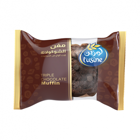 Lusine Triple Chocolate Muffin 60gm