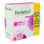 Freshdays Norm Scented 52+20 Pads Free