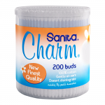 Sanita Charm Ear Buds Round 200