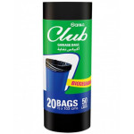 Sanita Club Garbage Bag Large Biodegradable 50g Roll 20bags