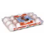 Khaleej White Medium Eggs 15