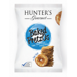 Hunter's Baked Pretzos - with Sea Salt 80gm