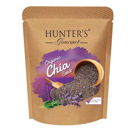 Hunter's Organic Chia Seeds   300gm