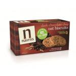 Nairn's Dark Chocolate Chip Oat Biscuits 200gm