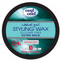 Cool & Cool Extra Hold Styling Wax 75ML