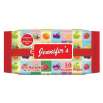 Jennifer's Anti Bacterial Wipes 30's