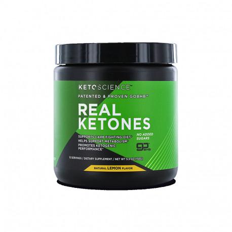 Ketoscience Real Ketones Nat Lemon Powder 15serv 150g