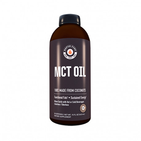 Rapidfire Mct Oil 30serv 443ml