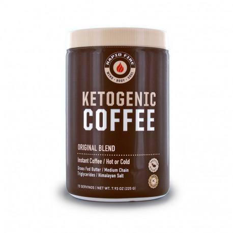 Rapidfire Ketogenic Coffee Original Blend 225g 15serv